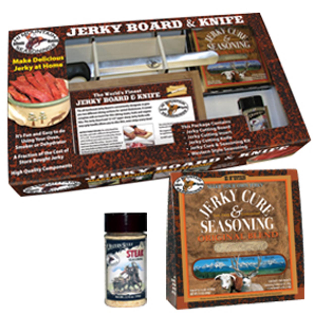 Original Jerky Board & Knife