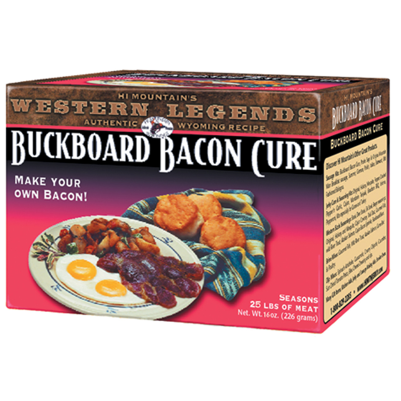 Buckboard Bacon Cure
