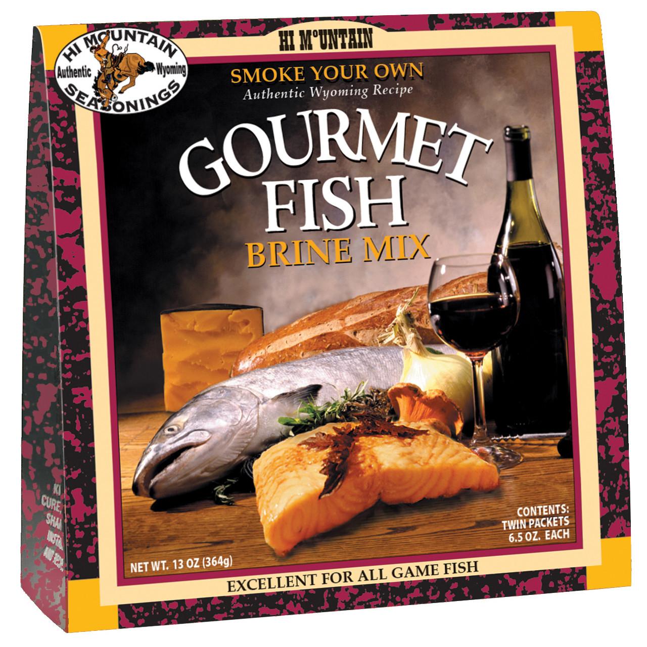 Gourmet Fish Brine Mix