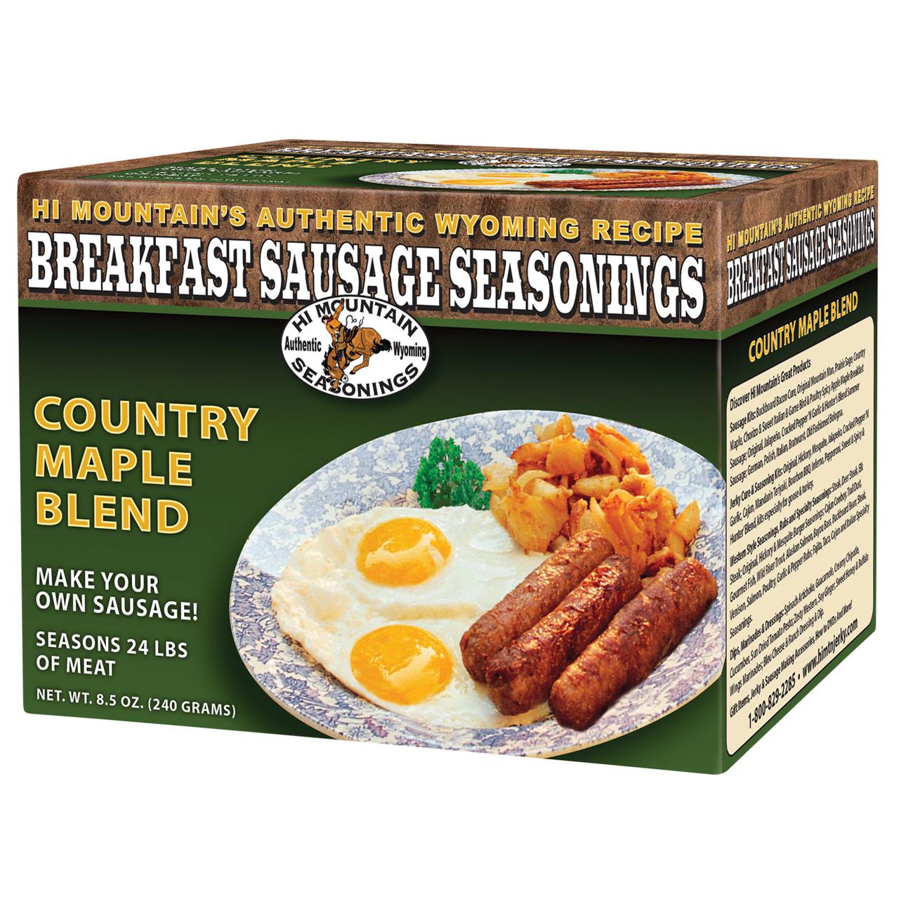 Country Maple Breakfast Sausage Seasoning