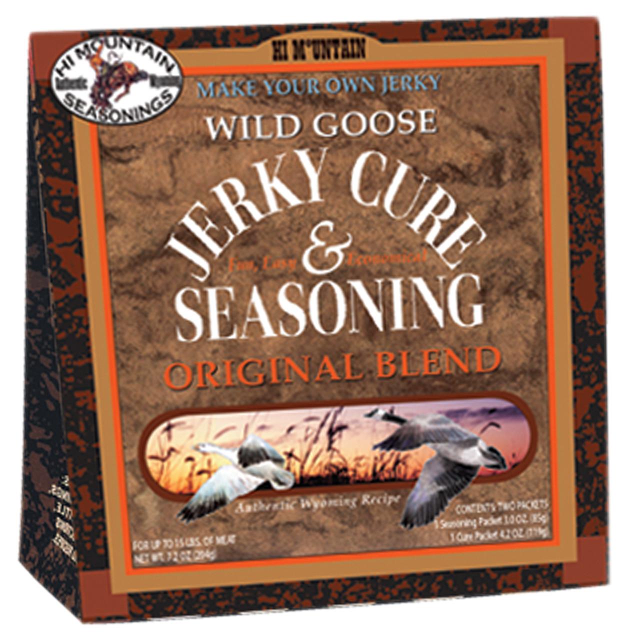 Wild Goose Original Blend Jerky Kit