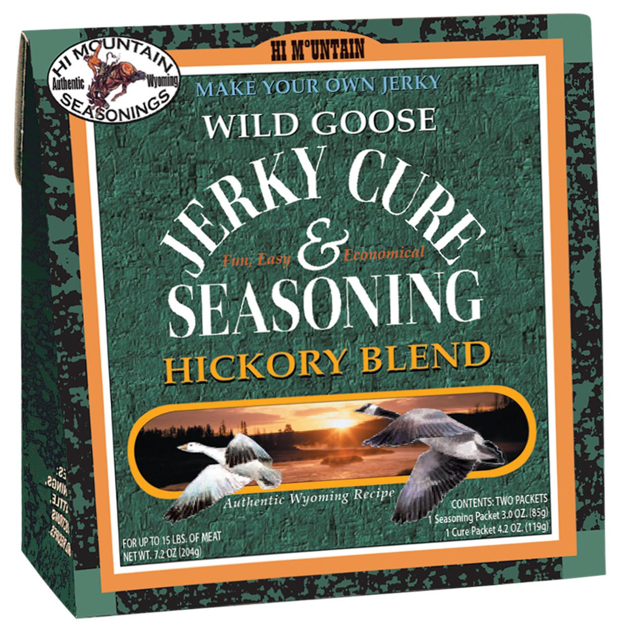 Wild Goose Hickory Blend Jerky Kit