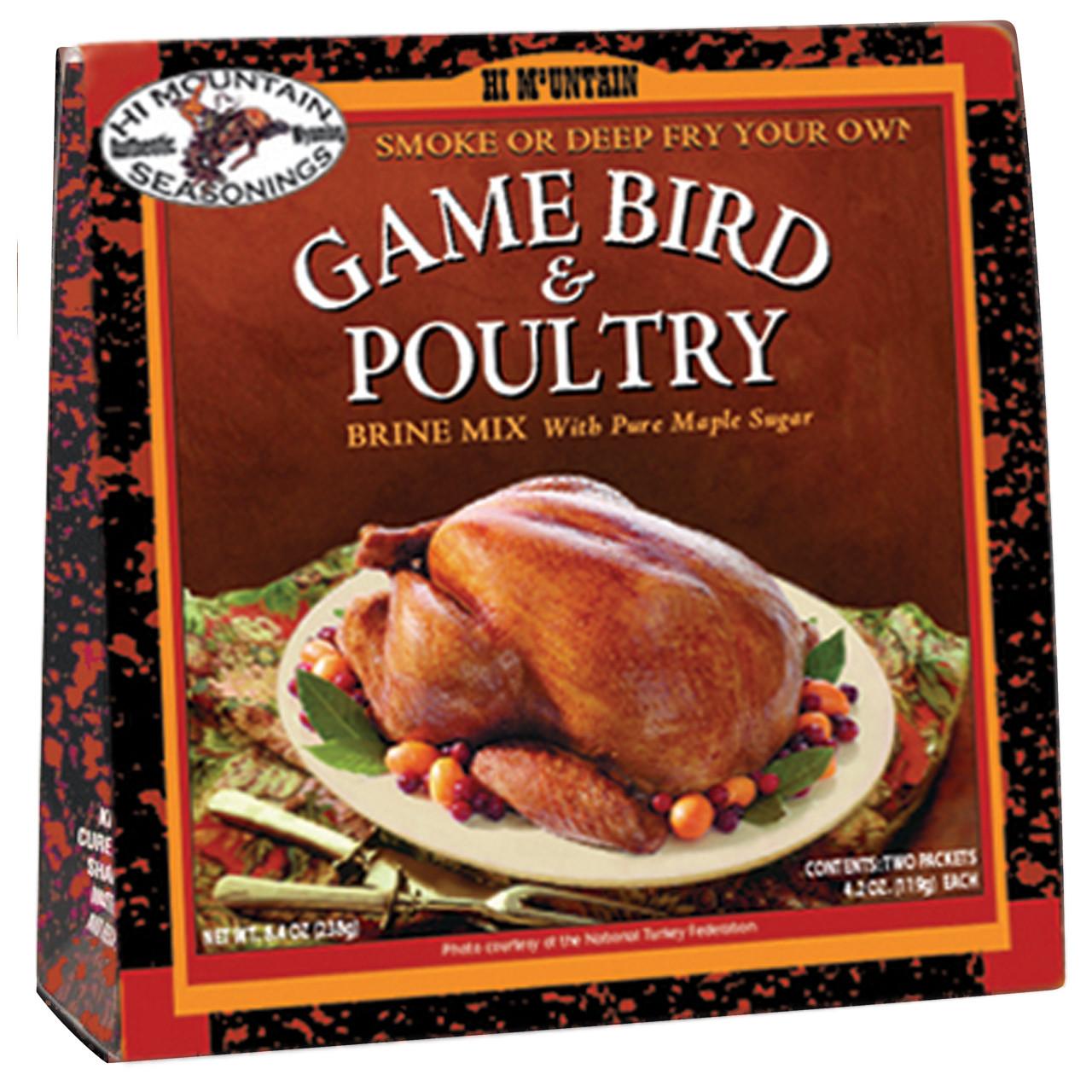 Game Bird & Poultry Brine Mix