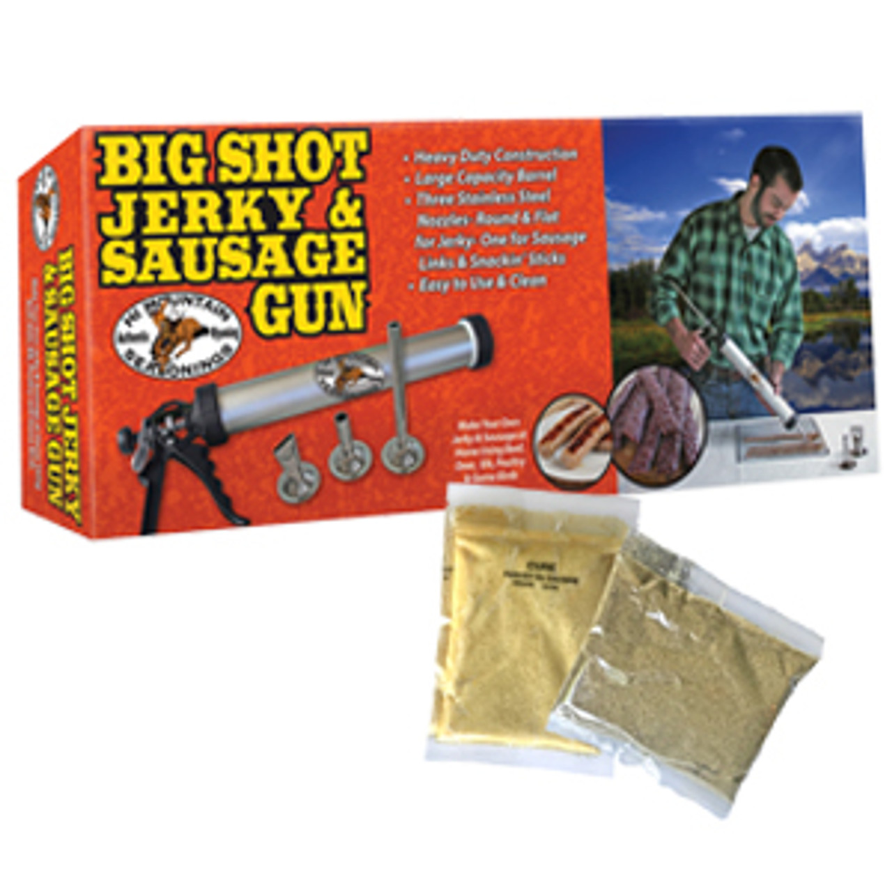 Big Shot Jerky & Sausage Gun
