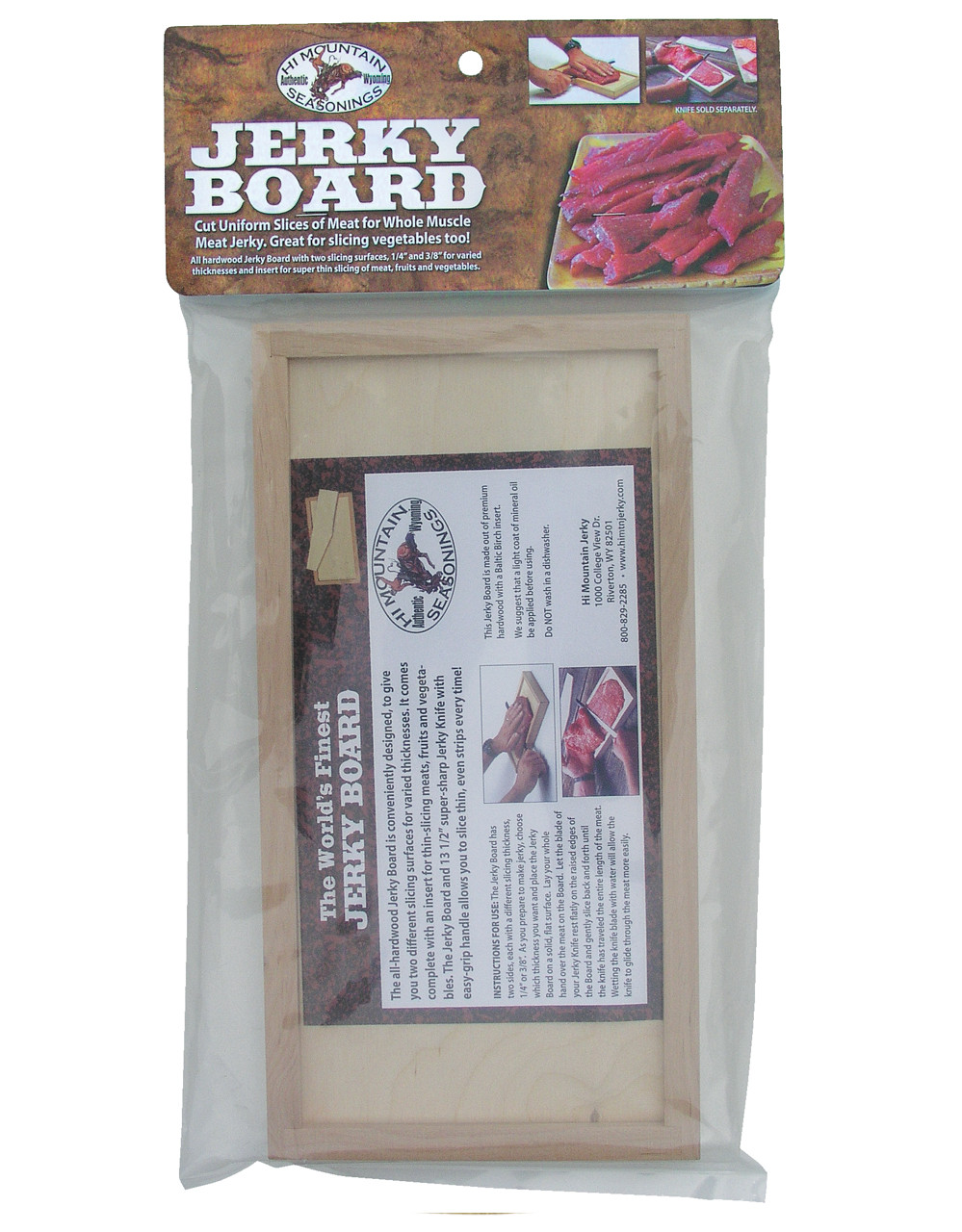 Jerky Board with Insert