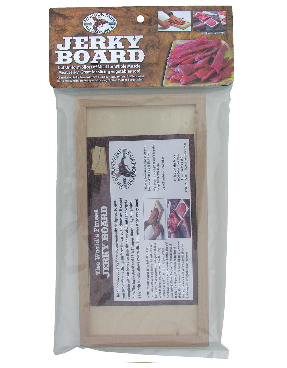 Jerky Board with Insert