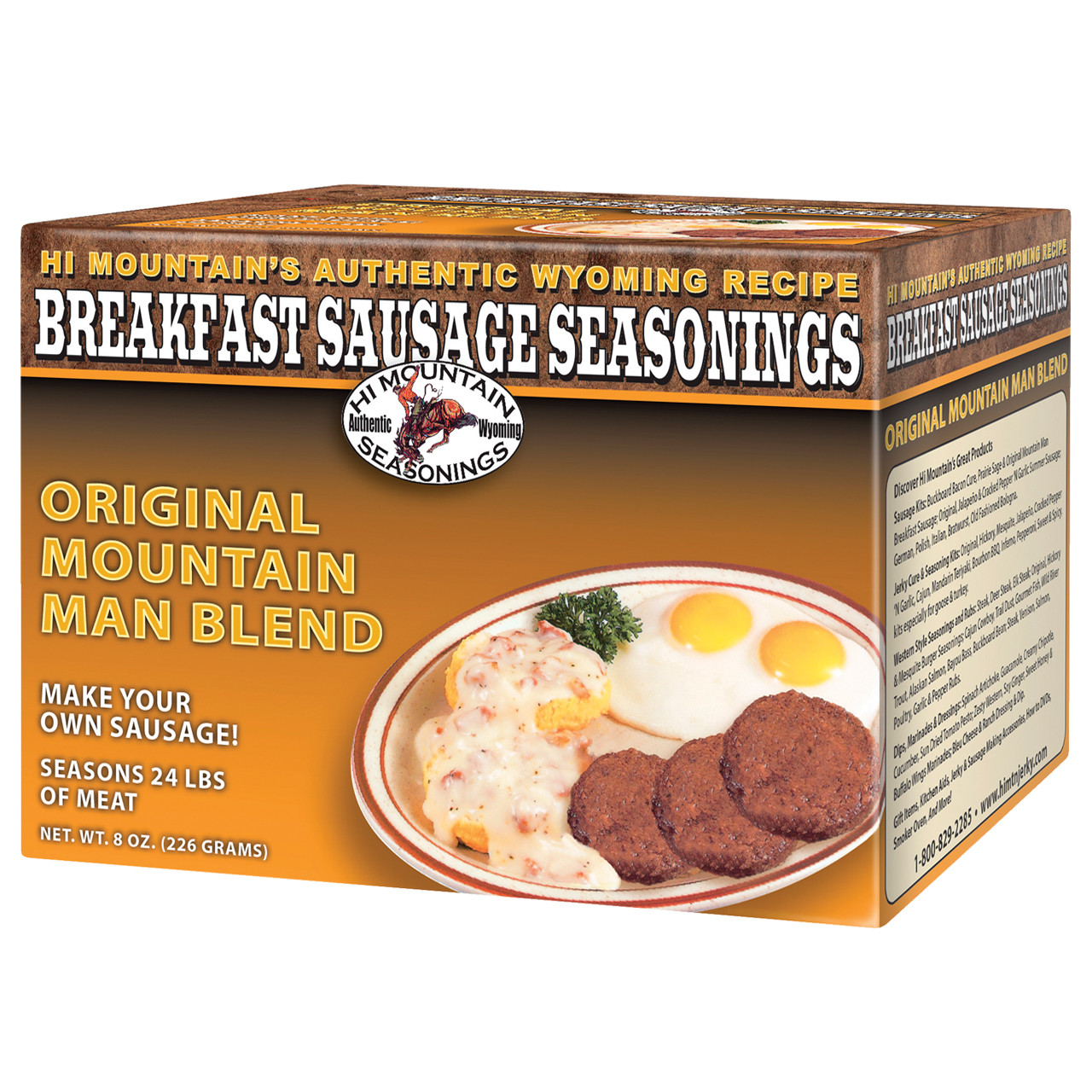 Original Mountain Man Breakfast Sausage Seasoning