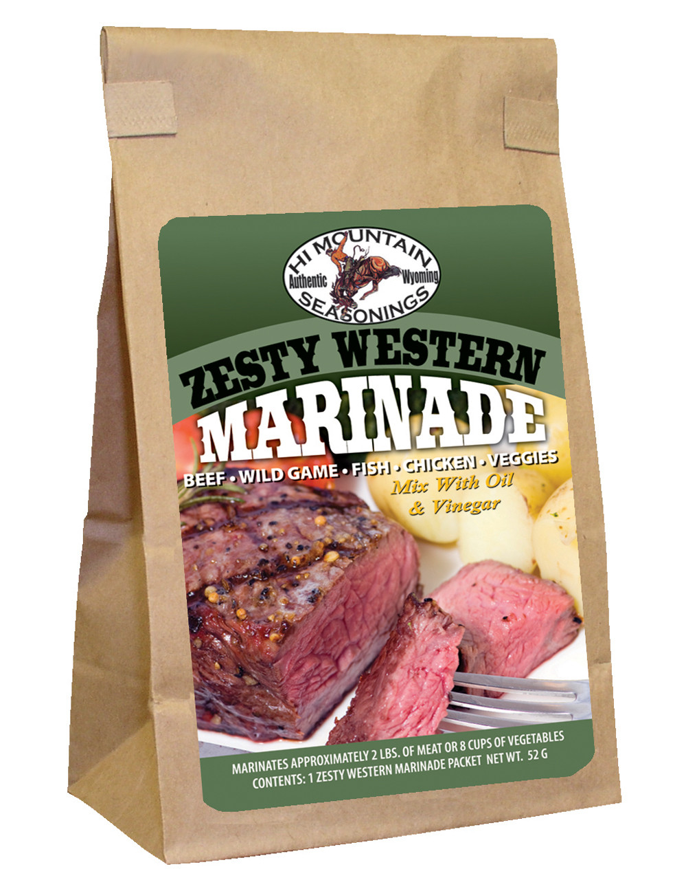 Zesty Western Marinade