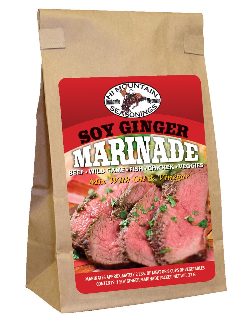 Soy Ginger Marinade