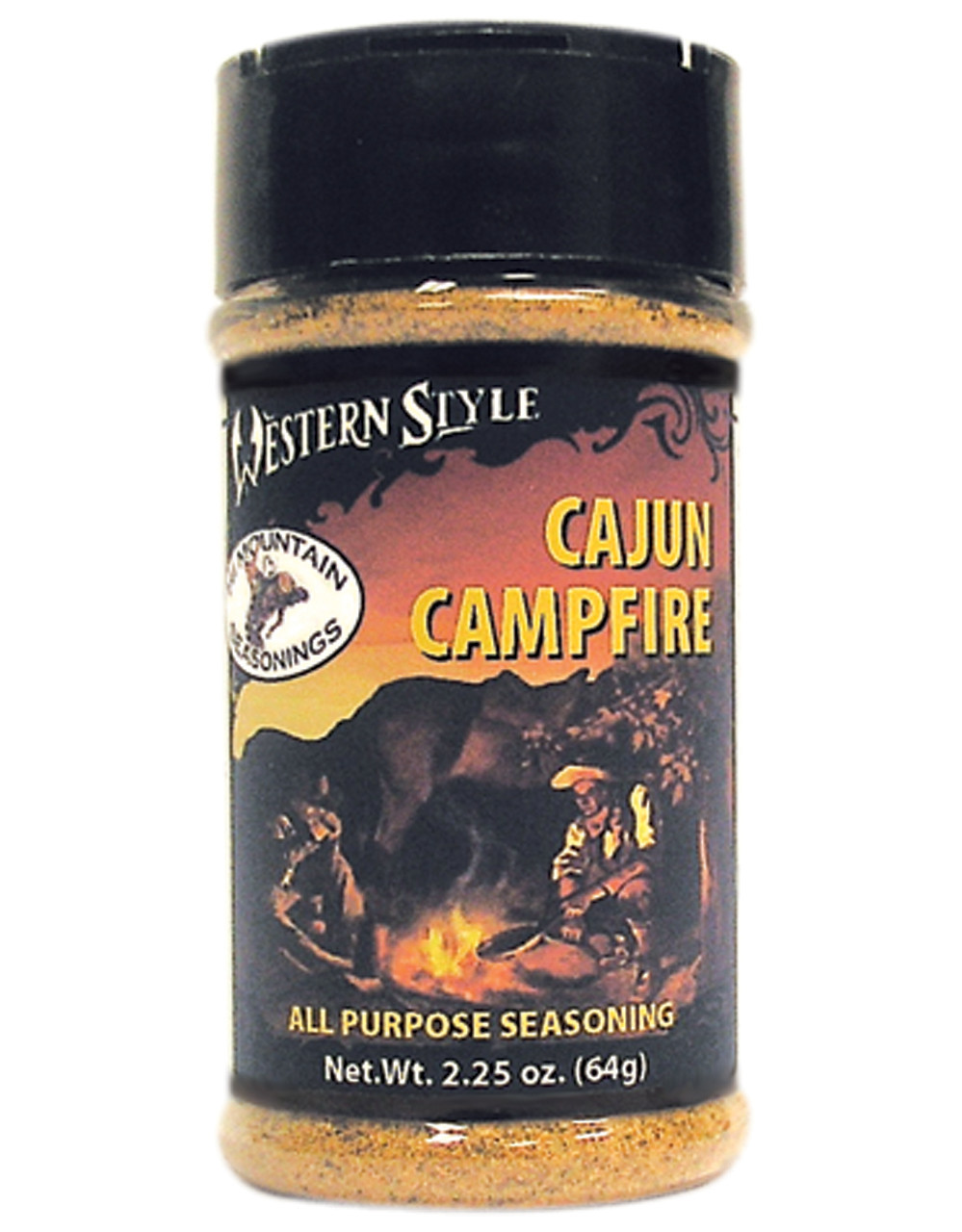 Cajun Campfire Western Style Seasoning