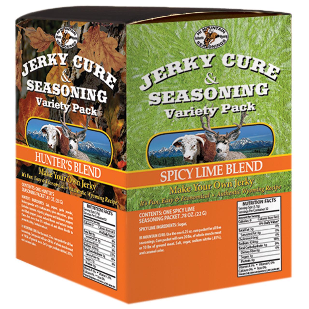 Jerky Maker's Variety Pack #3 Jerky Kit