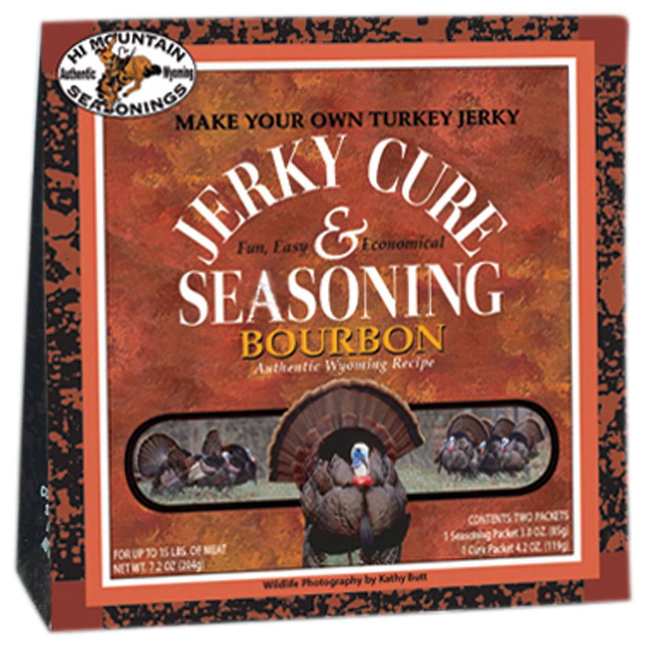 Wild Turkey Bourbon Blend Jerky Kit