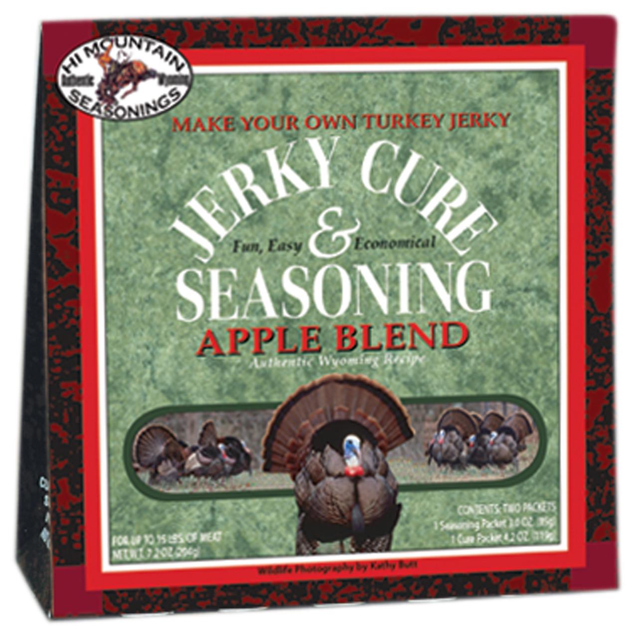 Wild Turkey Apple Blend Jerky Kit