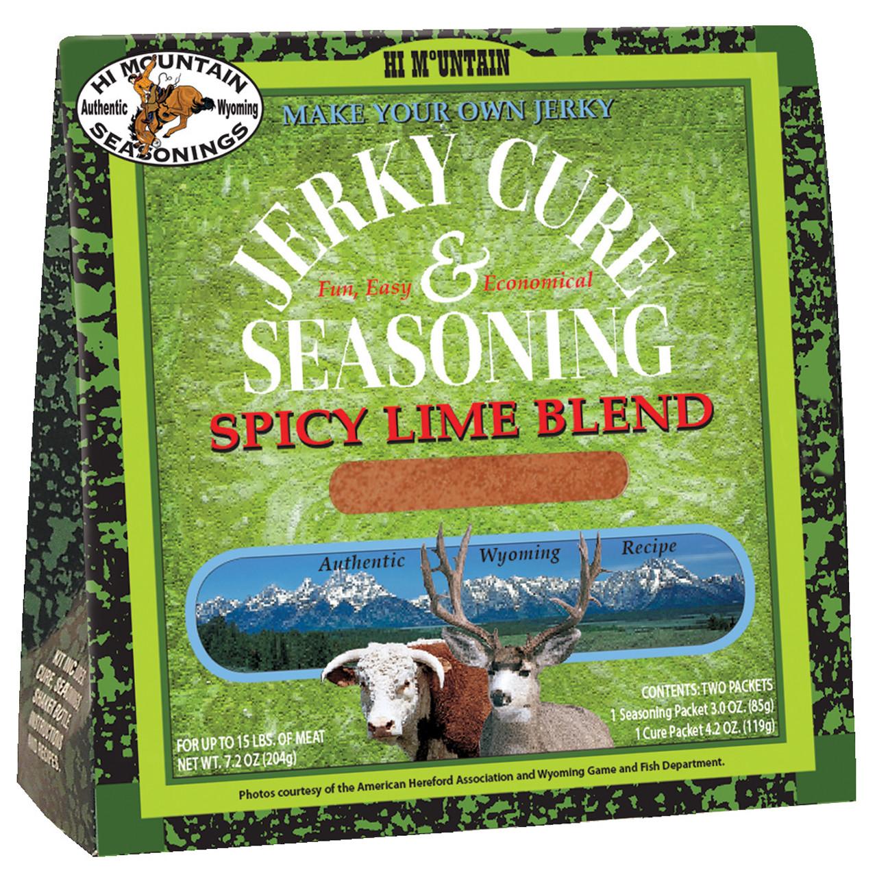 Spicy Lime Blend Jerky Kit