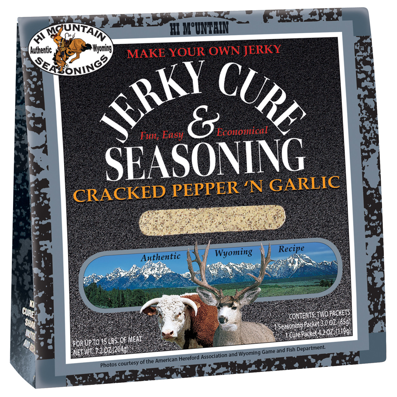 Cracked Pepper 'N Garlic Blend Jerky Kit
