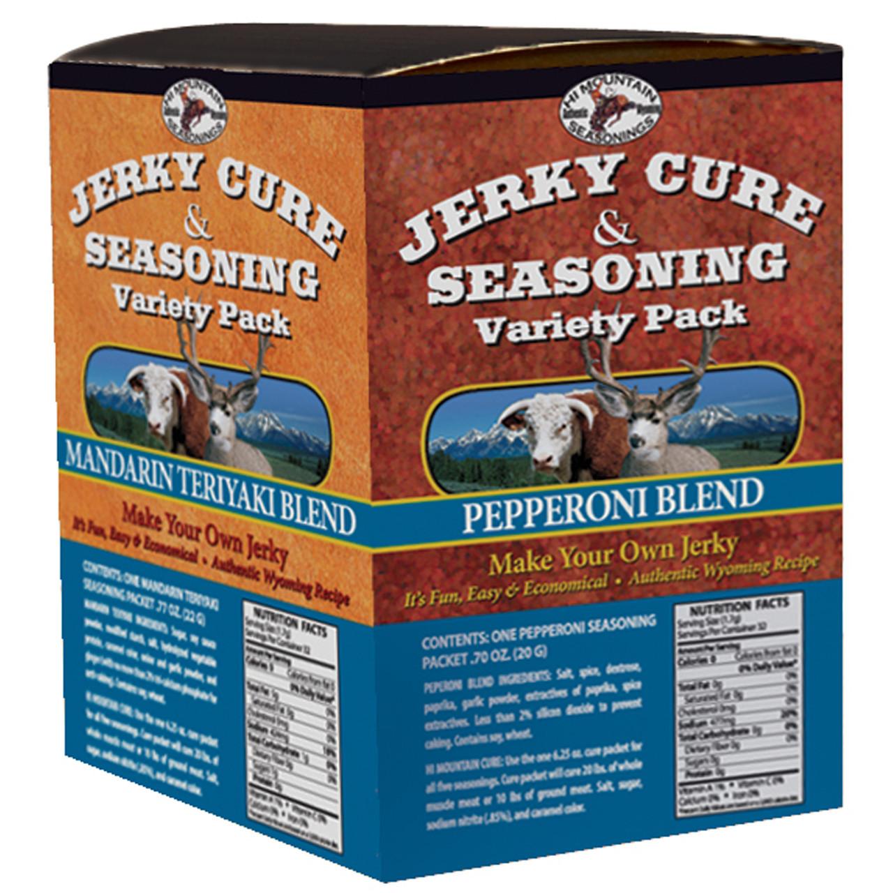 Jerky Maker's Variety Pack #2 Jerky Kit