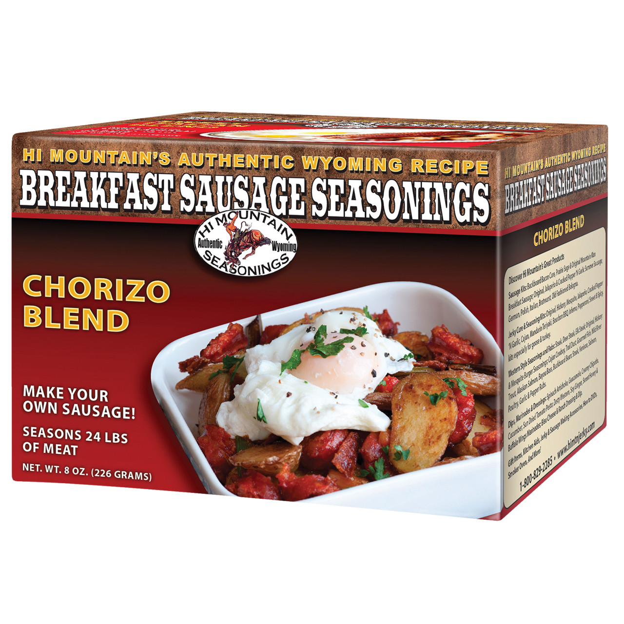 Chorizo Blend Breakfast Sausage Seasoning
