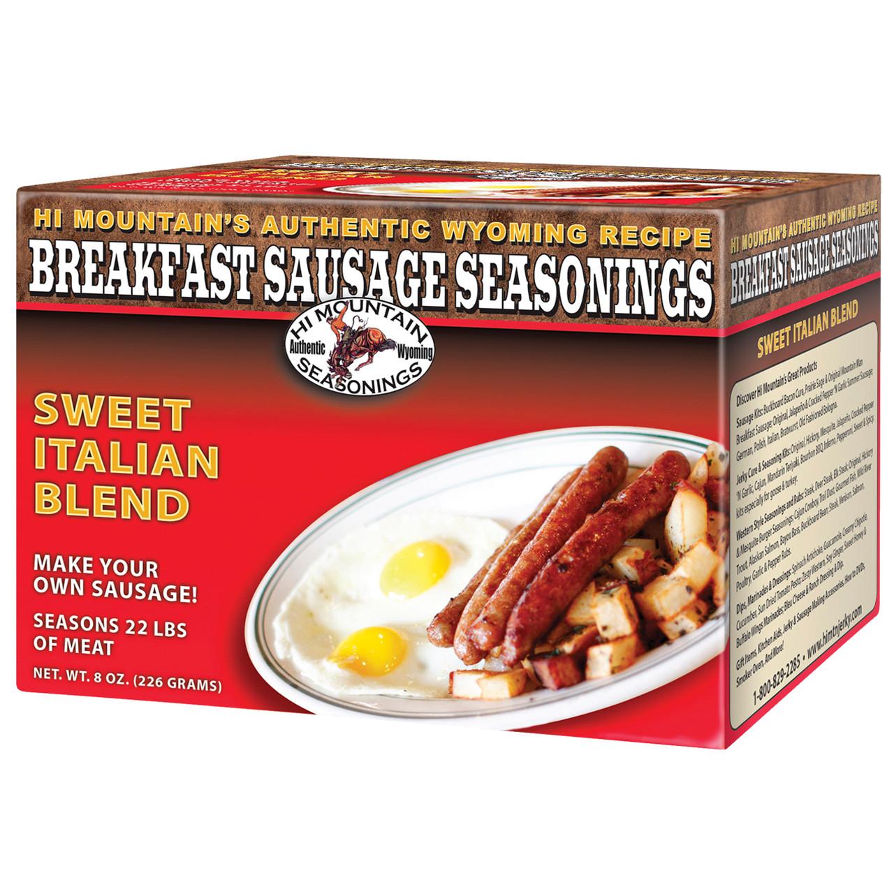 Sweet Italian Breakfast Sausage Seasoning