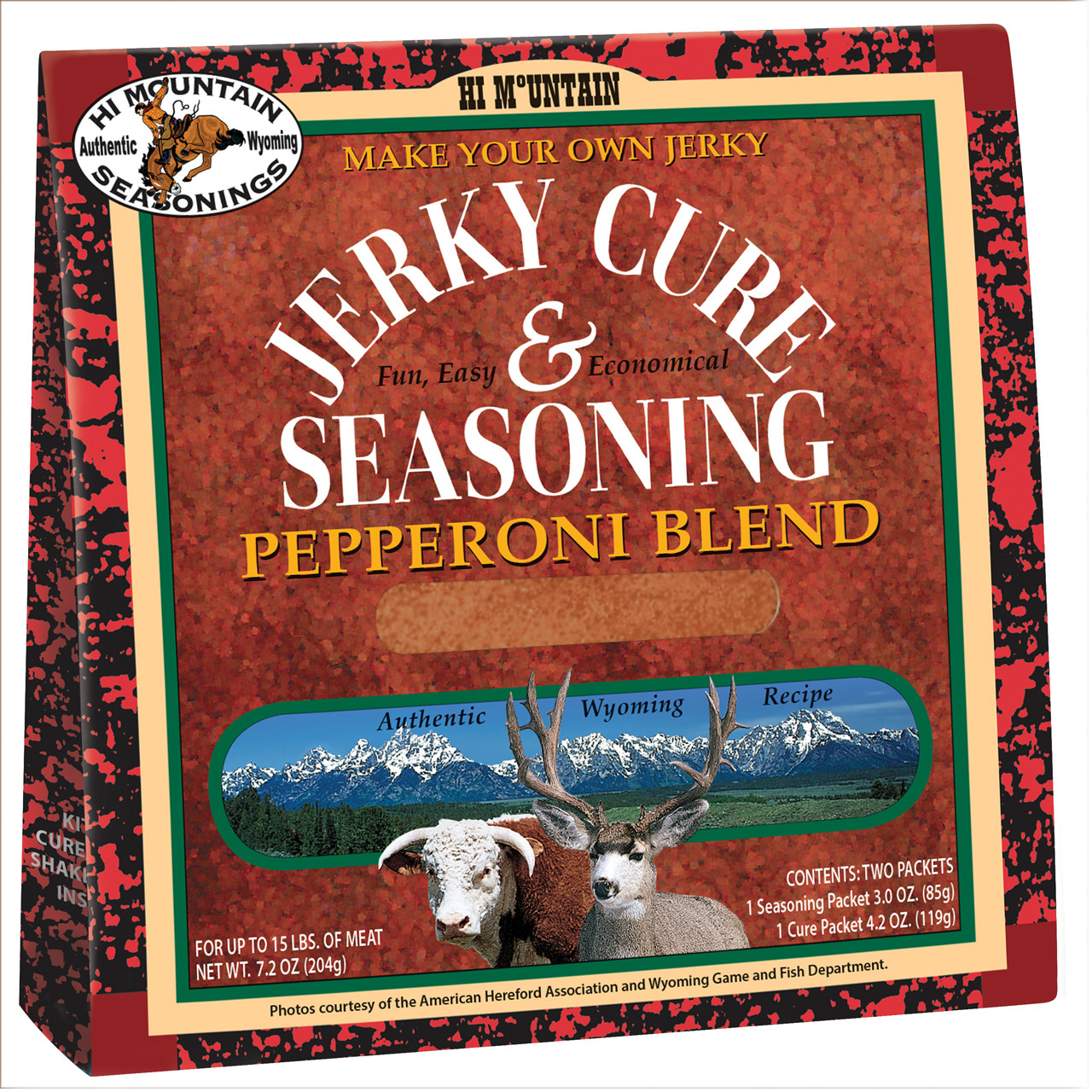 Pepperoni Blend Jerky Kit