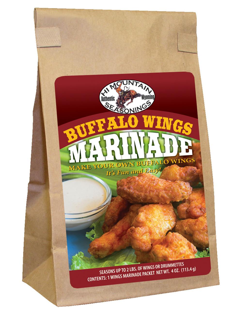 Buffalo Wings Marinade