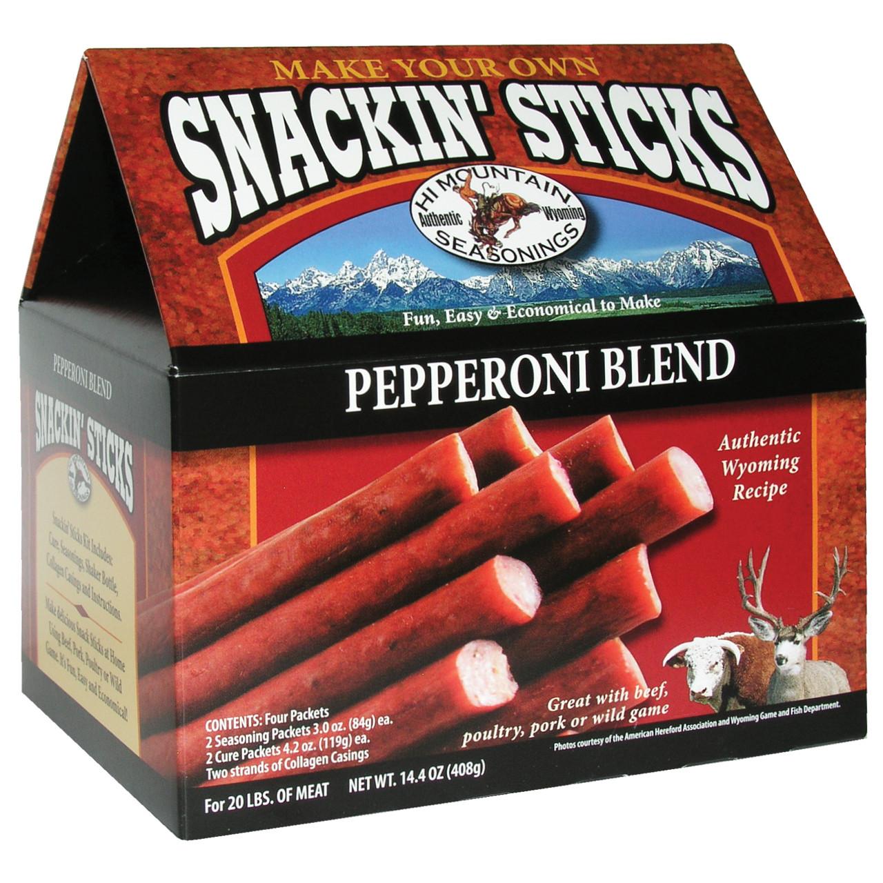 Pepperoni Snackin' Stick Kit