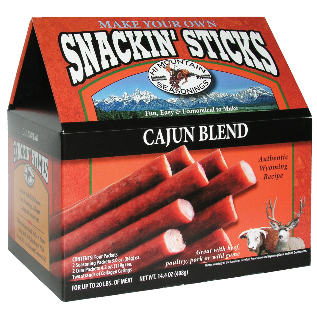 Cajun Snackin' Stick Kit
