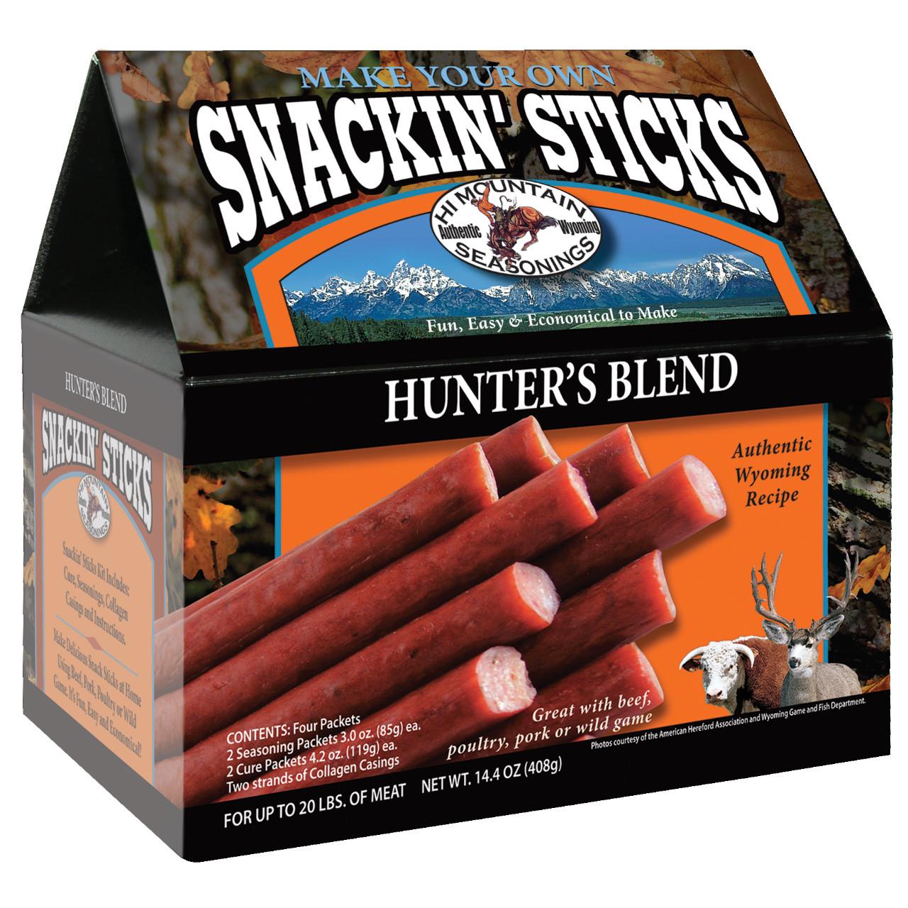 Hunter's Blend Snackin' Stick Kit