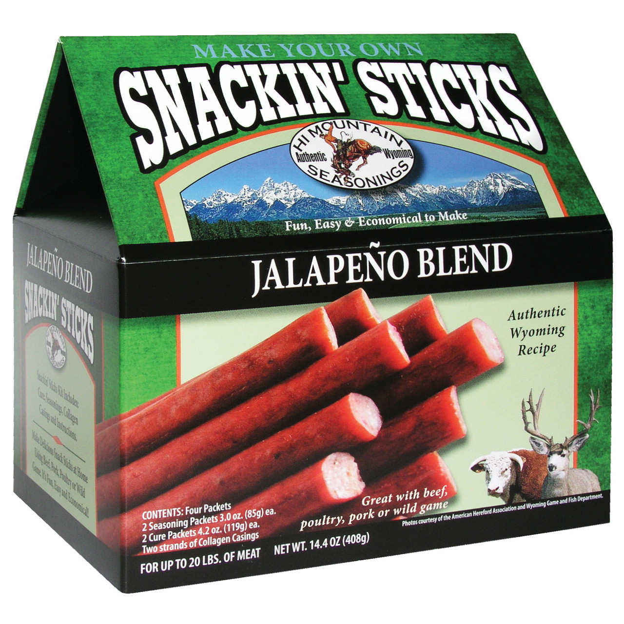 Jalapeño Snackin' Stick Kit