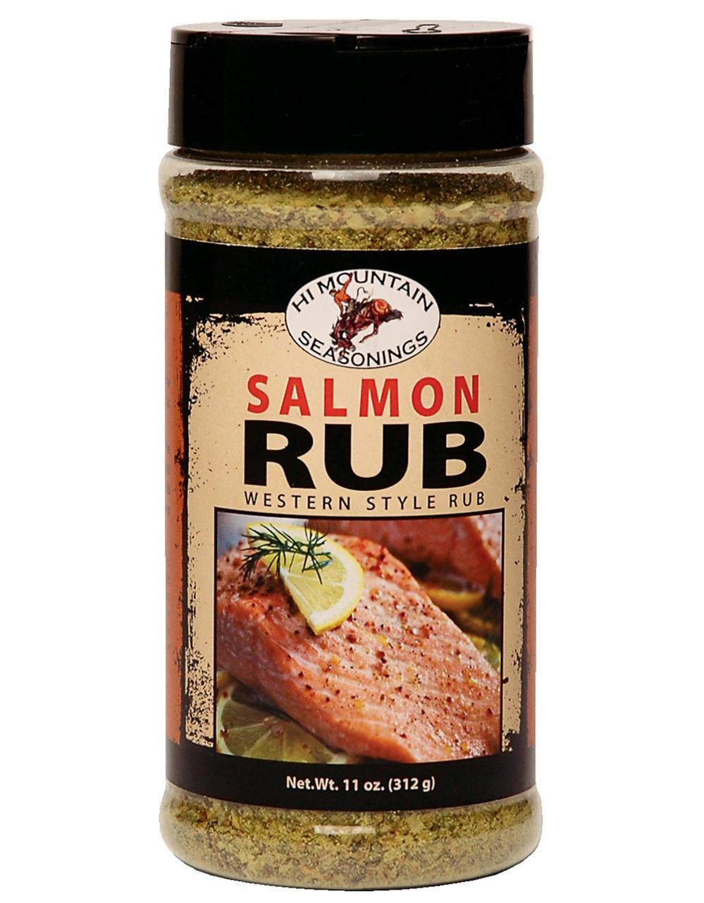 Salmon Rub Blend