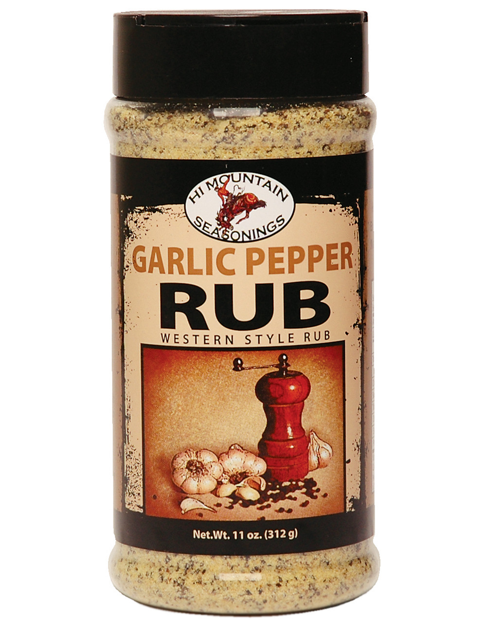 Garlic Pepper Rub Blend