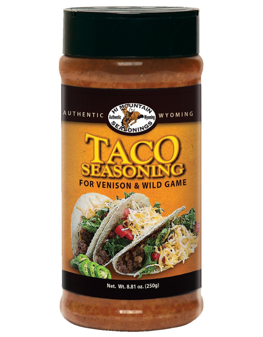 Venison Taco Seasoning