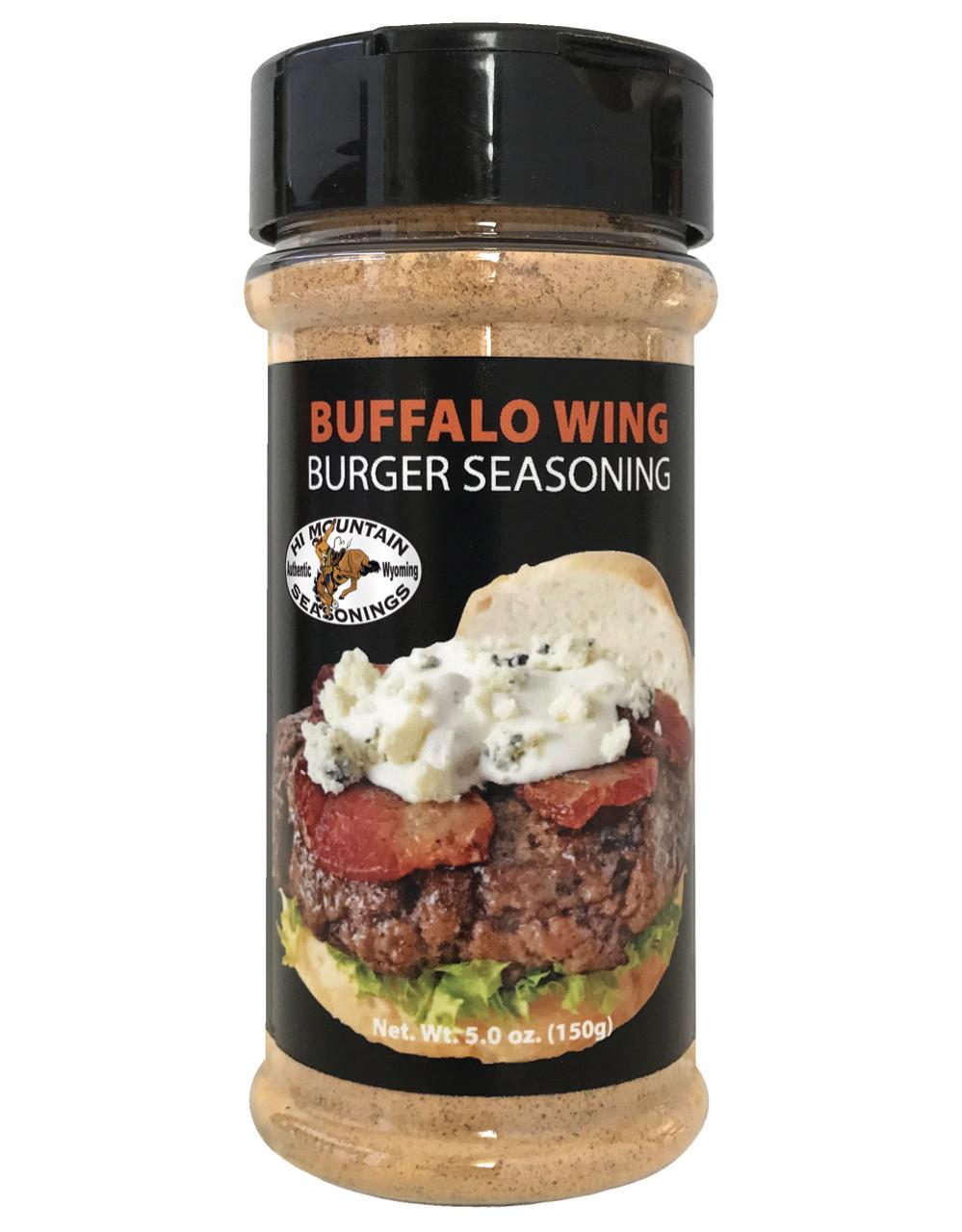 Buffalo Wing Burger Seasoning