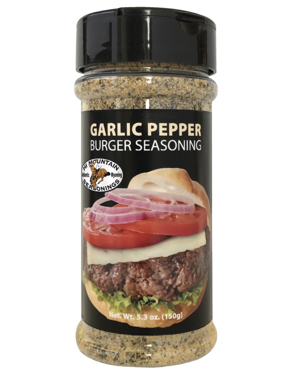 Garlic Pepper Burger Seasoning