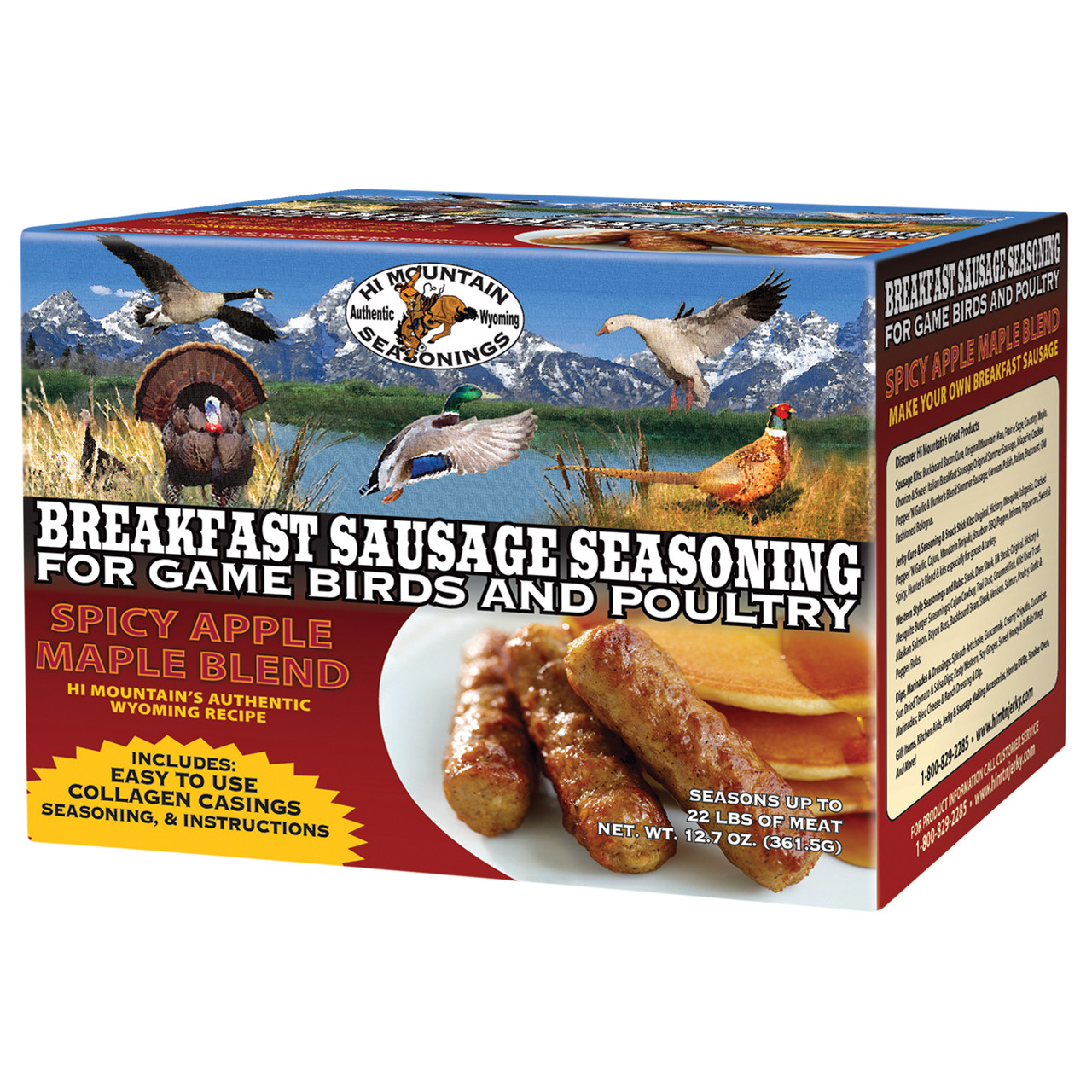 Spicy Apple Maple Breakfast Sausage Blend Seasoning