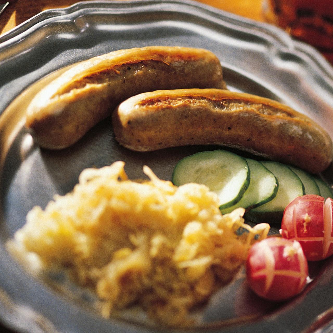 Garlic Pepper Bratwurst Sausage Kit