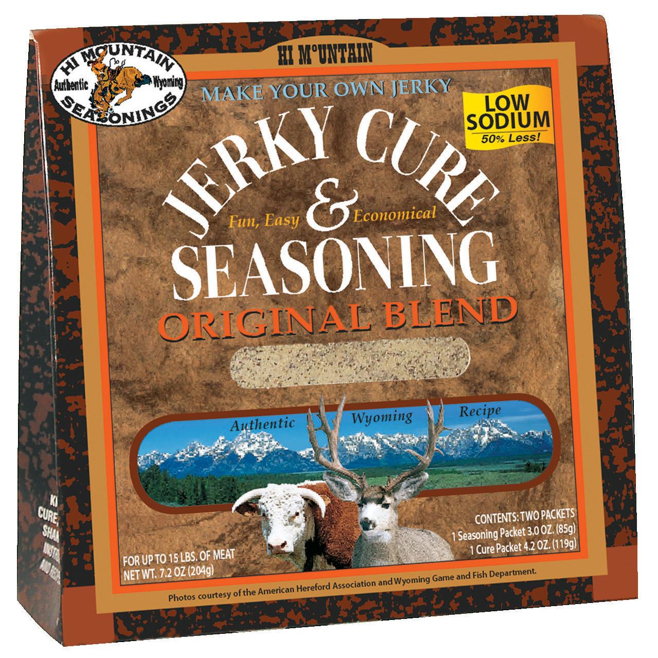 Original Blend Low Sodium Jerky Kit