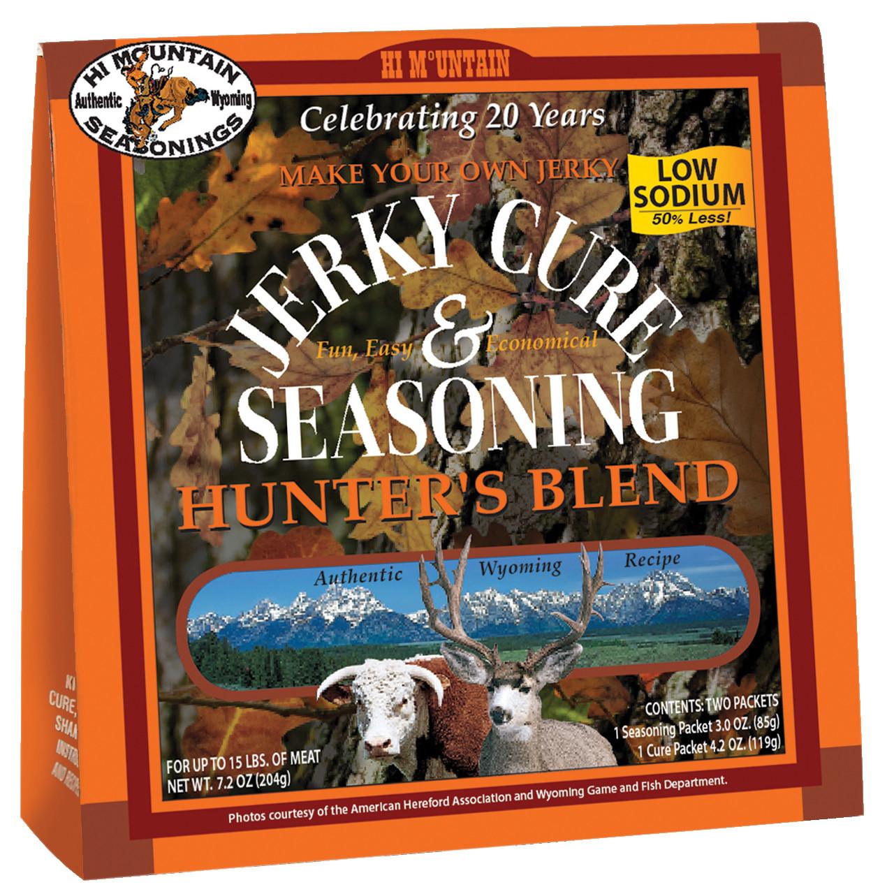 Hunter's Blend Low Sodium Jerky Kit