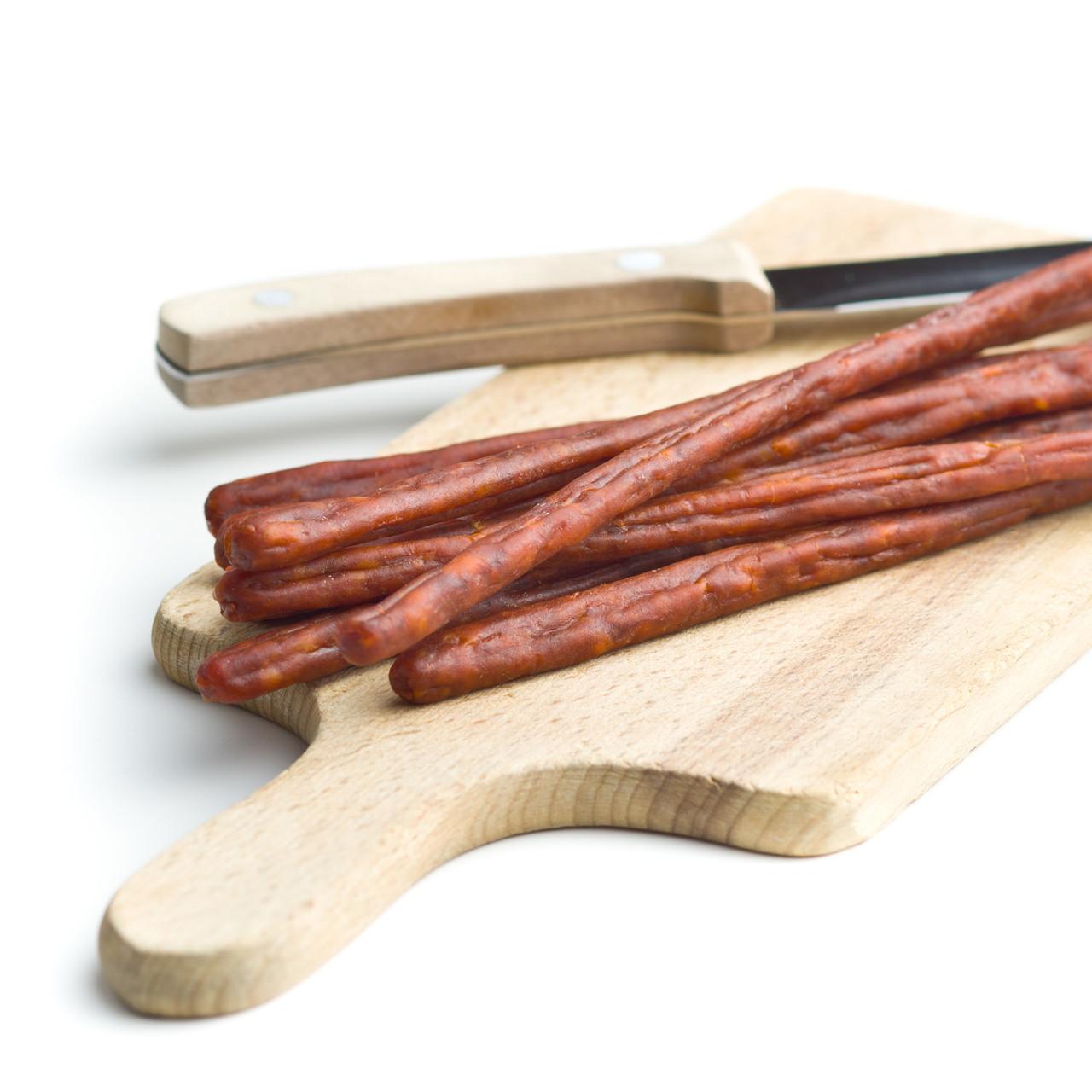 Mahogany Snackin' Sticks Casings, 21mm