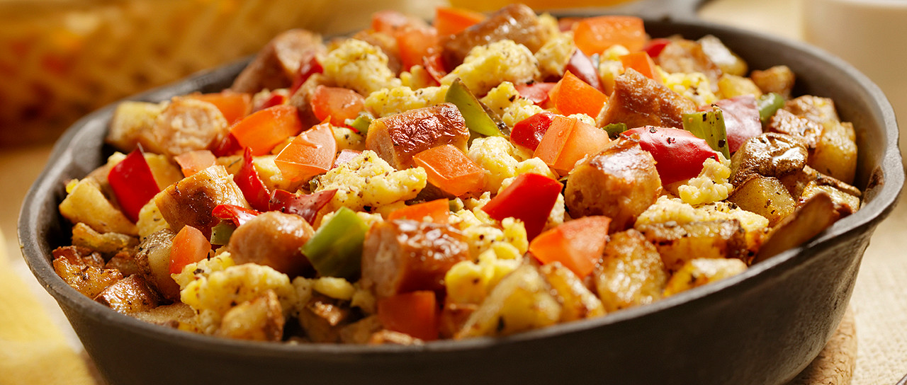 Turkey Sausage Breakfast Skillet