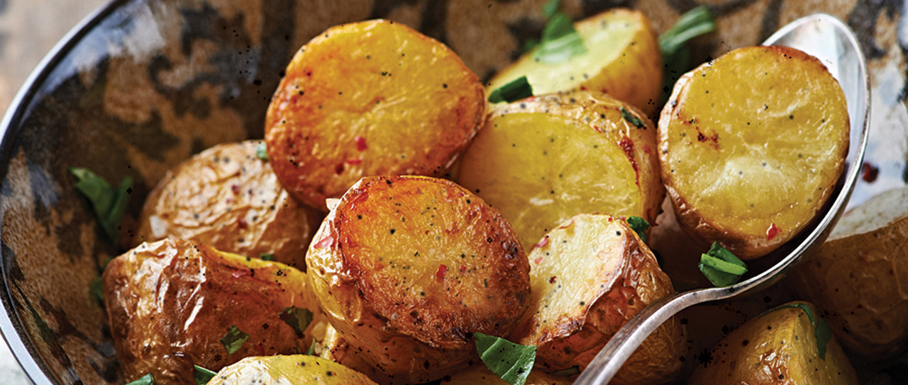 Rustic Oven Roasted Potatoes