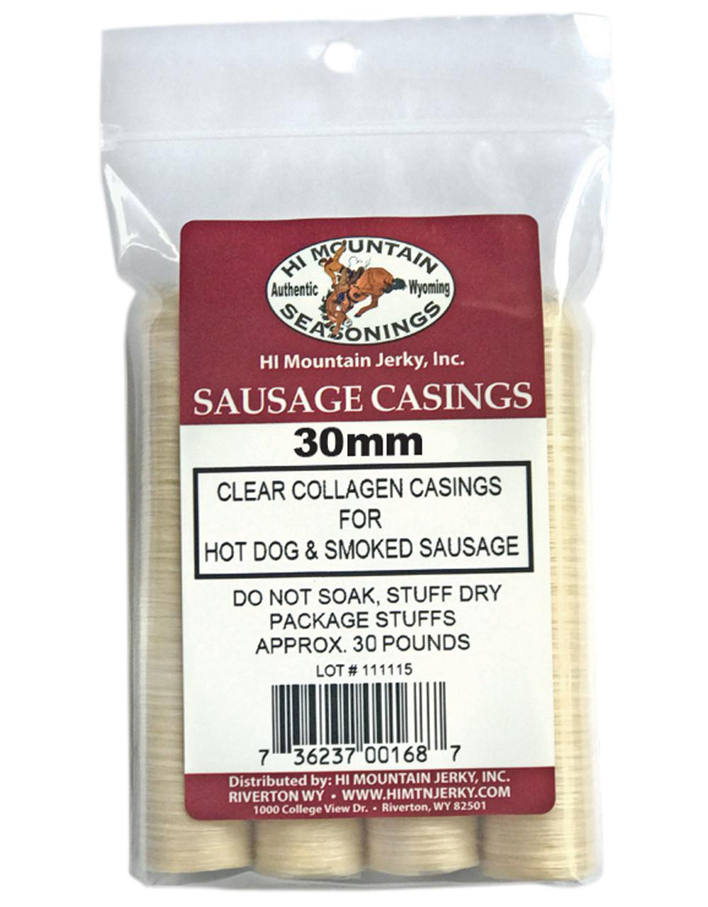 Sausage Casings, 30mm