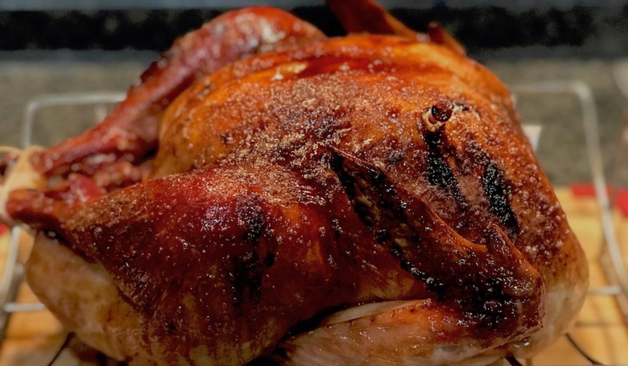 Bourbon Glazed Holiday Turkey