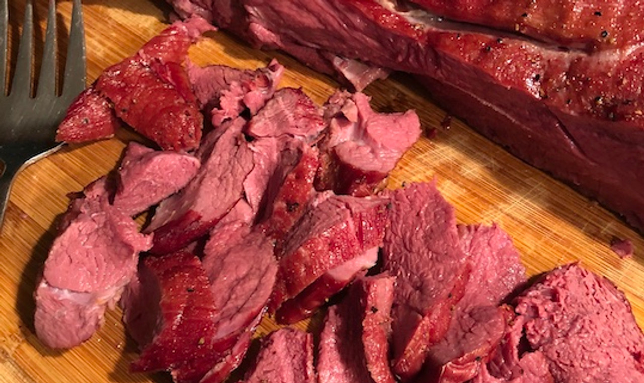 Smoked Venison Shoulder Roast