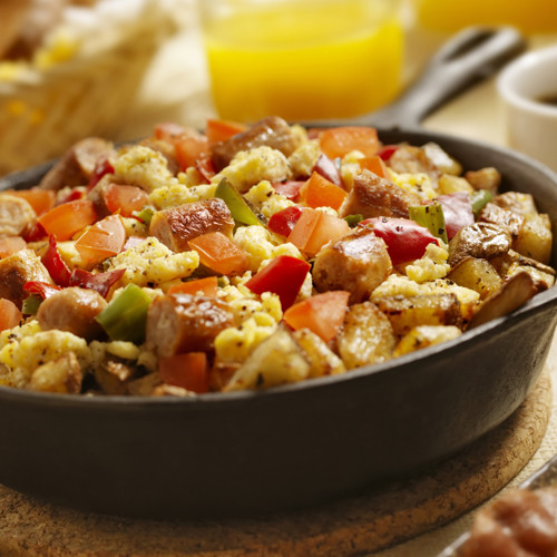 Turkey Sausage Breakfast Skillet