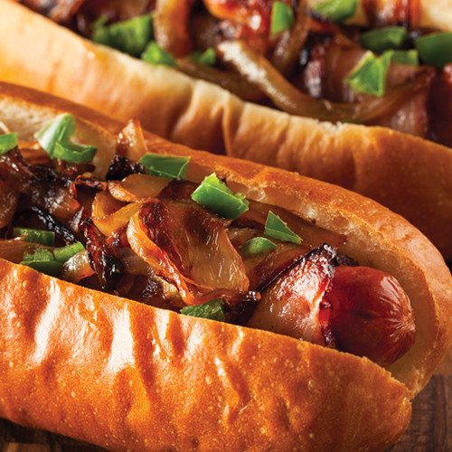 Sweet & Spicy Gourmet Hot Dogs