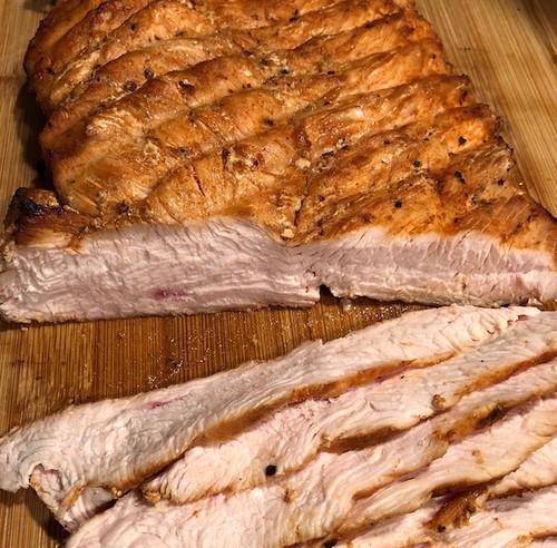 Smoked Wild Turkey Breast