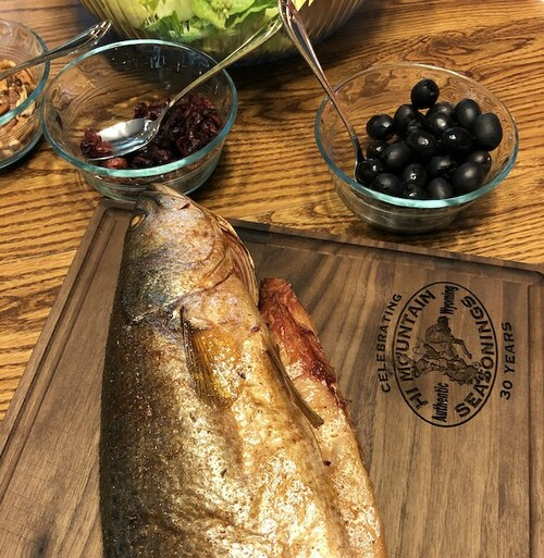 Smoked Sea Trout with Trout Dip