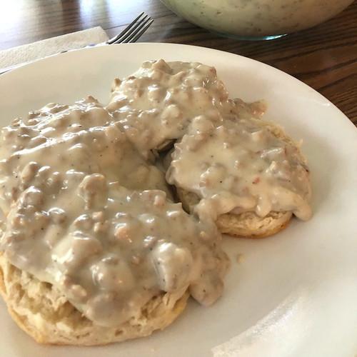 Wild Turkey Biscuits and Gravy