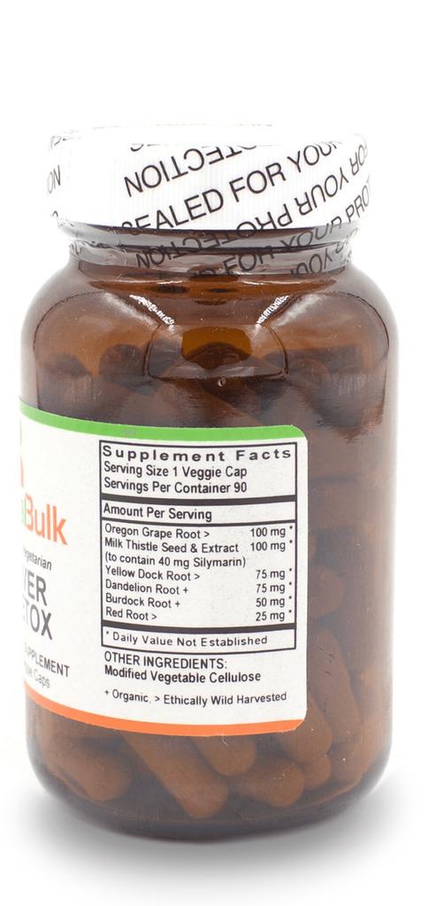 Liver Detox - 90 Count Bottle
