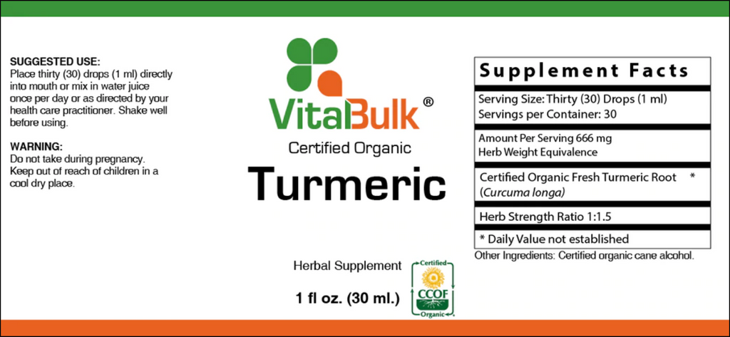 Turmeric - 1 Oz. Bottle